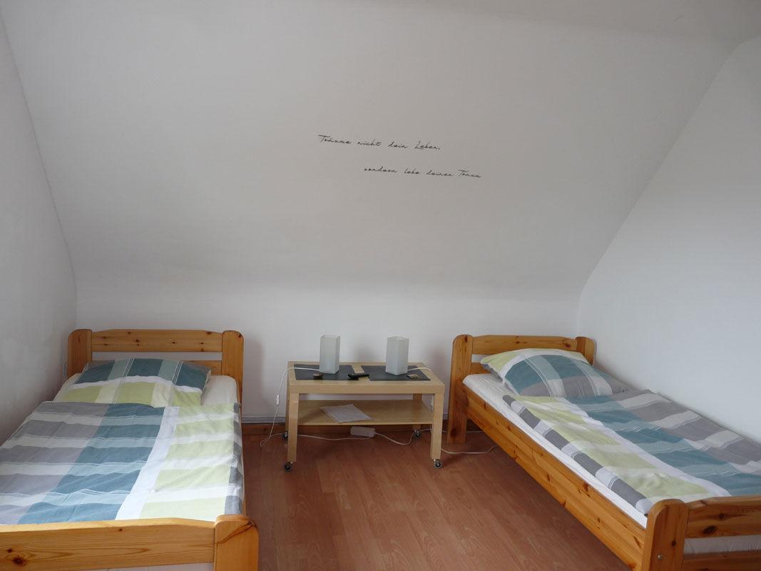 Doppelzimmer mit Verbindungstür OG