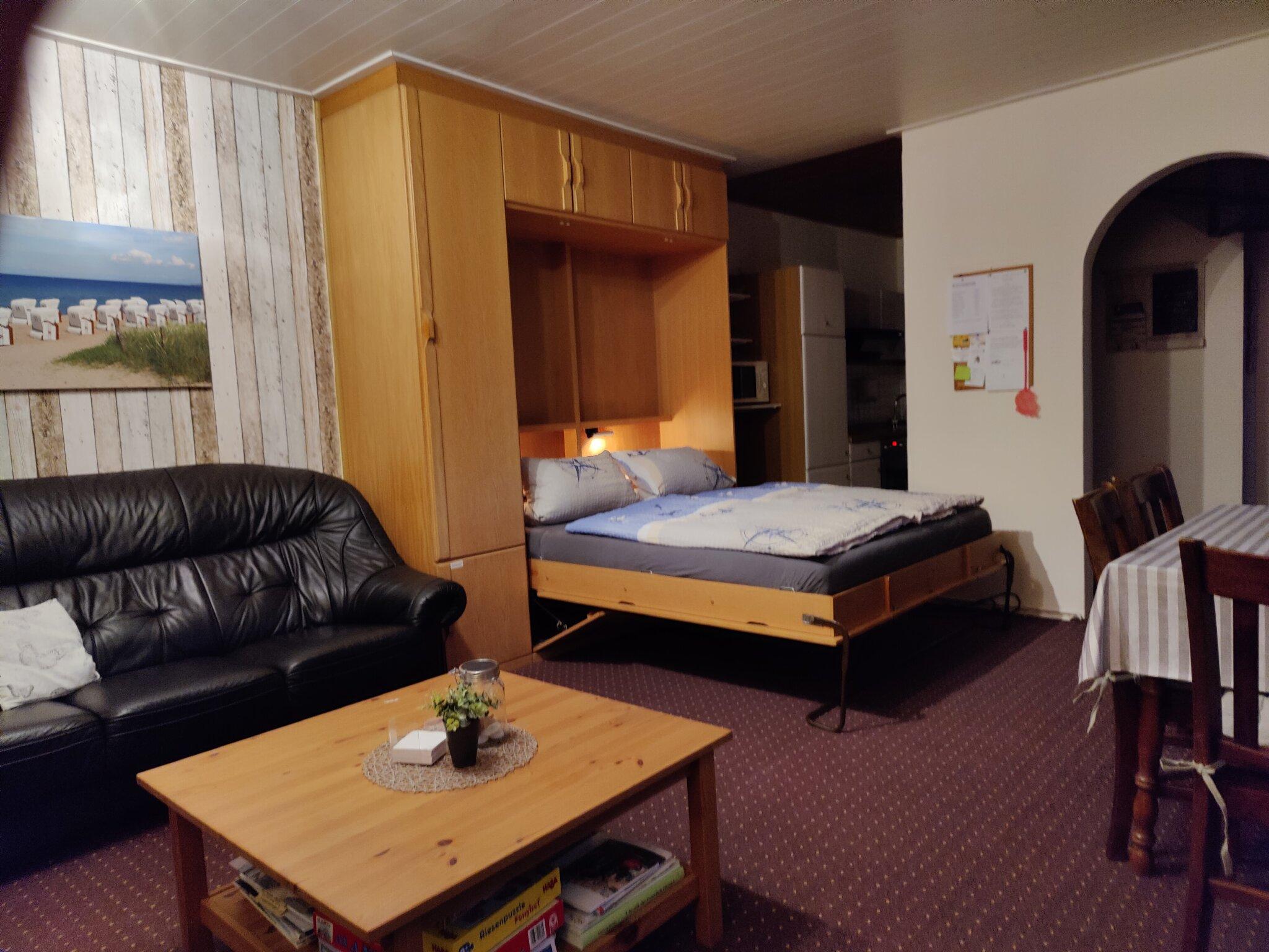 Das kleine Ferienhäuschen - Schlafzimmer