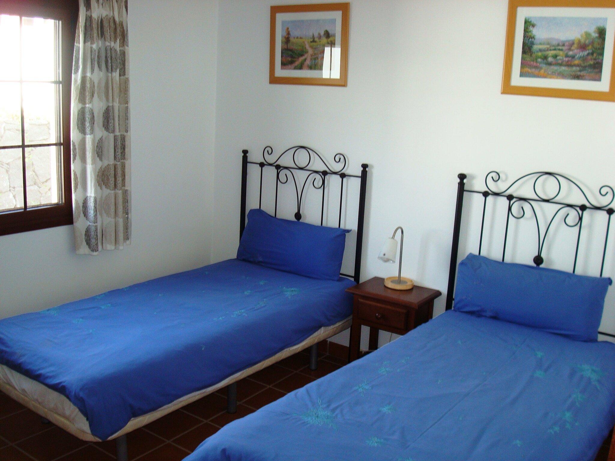 Komfortables drittes Schlafzimmer