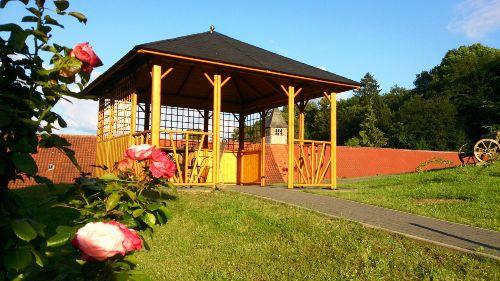 Unser Gartenpavillon