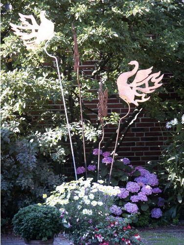 Kunst im Garten: Unsere vier T�chter