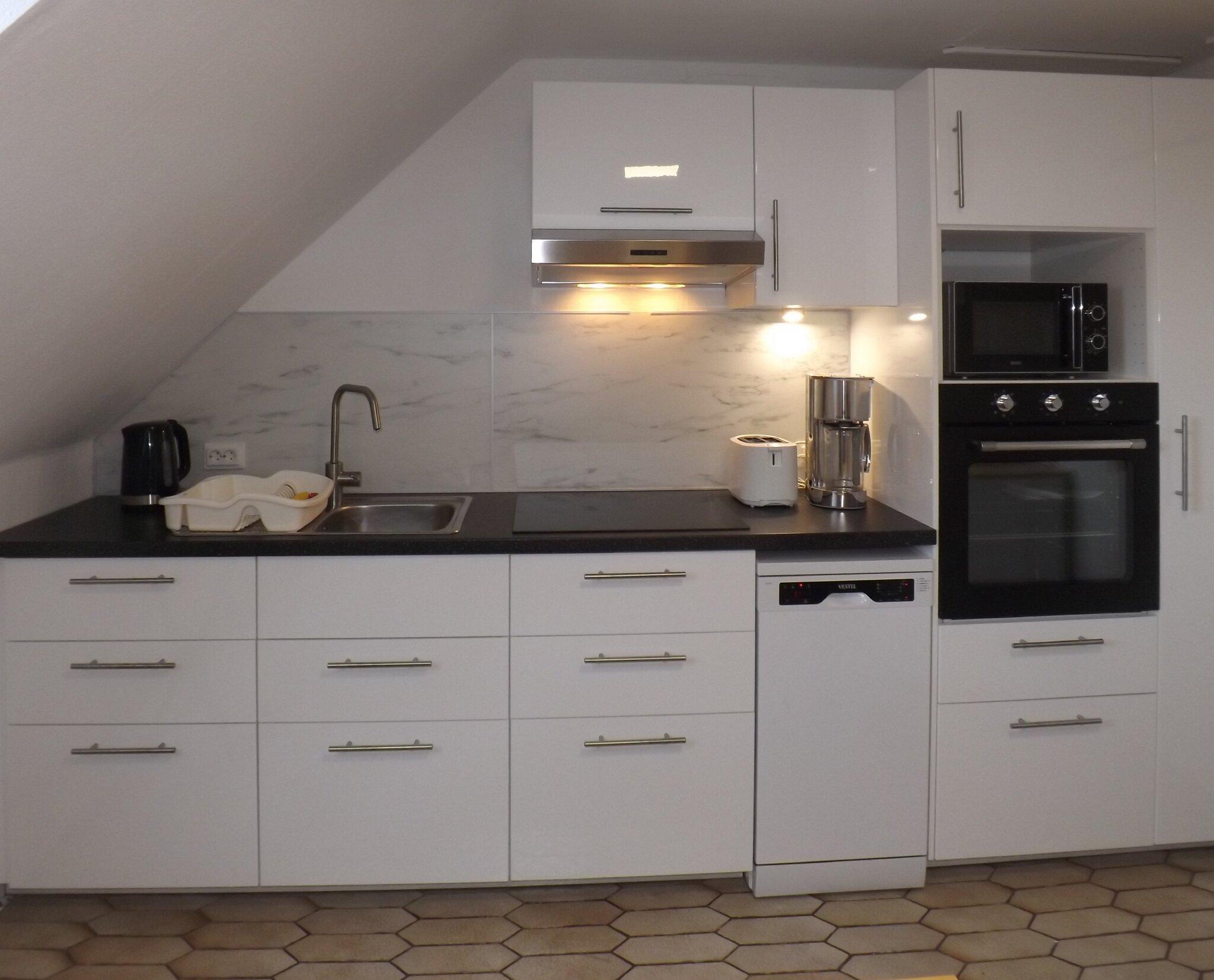 Doppelbett im Dreibettzimmer