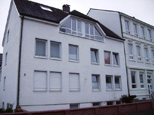 Das Haus mit Blick auf die Nordsee