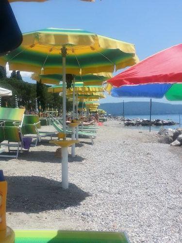 Strandbad von Maderno
