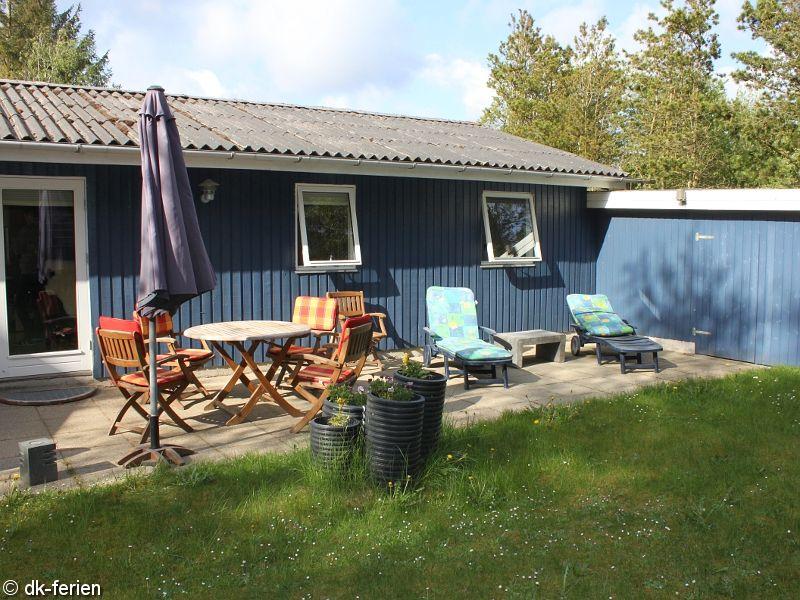 Terrasse vom Ulfborg Haus