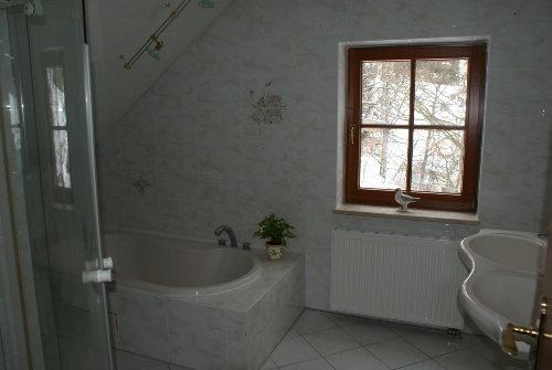 Das Bad (WC/Dusche/Bad/Doppelwaschbecken