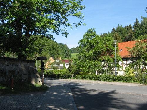 Blick in das Dorf