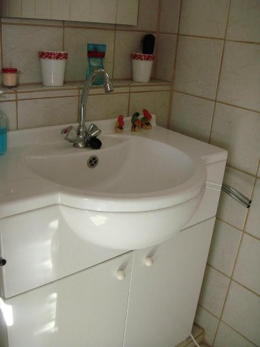 Waschtisch mit WC