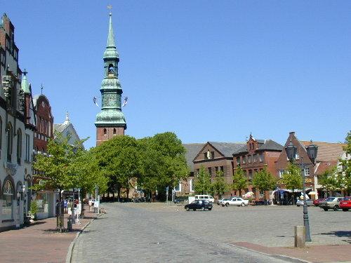 Marktplatz Tönning