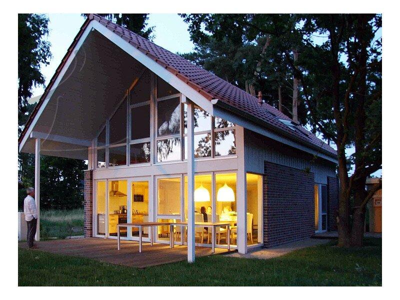Terrasse mit Sauna