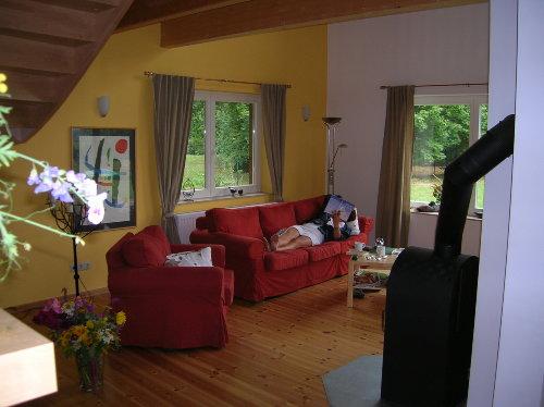 Wohnbereich mit Schwedenofen