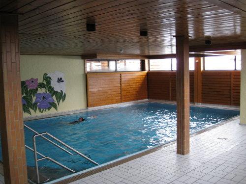 Schwimmhall, Duschen und Sauna