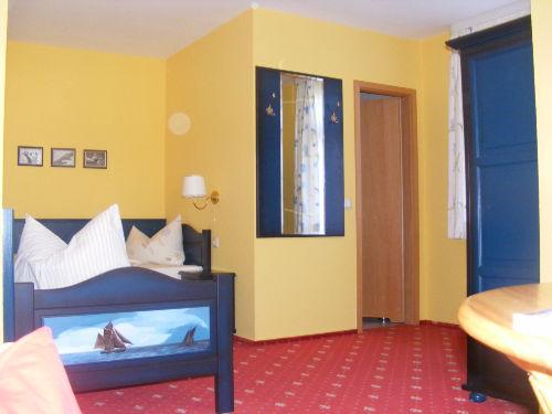 Schlafbereich App. 5 mit 2 Einzelbetten