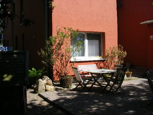 Grillplatz Innenhof