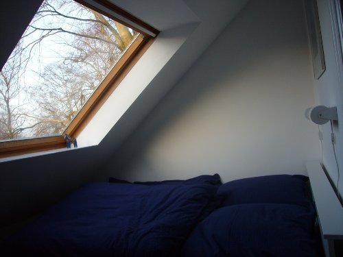 Ein kleines Schlafzimmer...