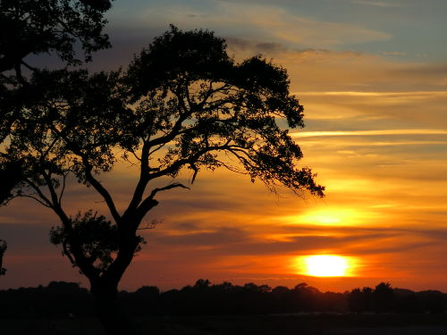 Sonnenuntergang Oehe