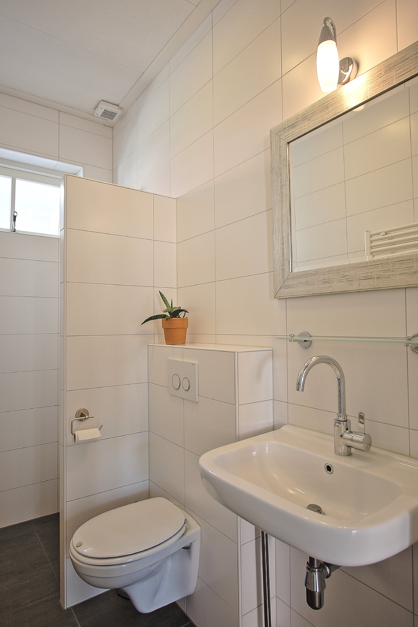 Neue Badezimmer (2014) mit Dusche