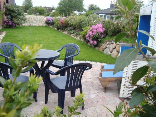 Neu gestalteter Garten Sommer 2013