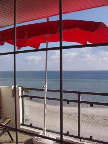 Balkon mit 100% Meerblick