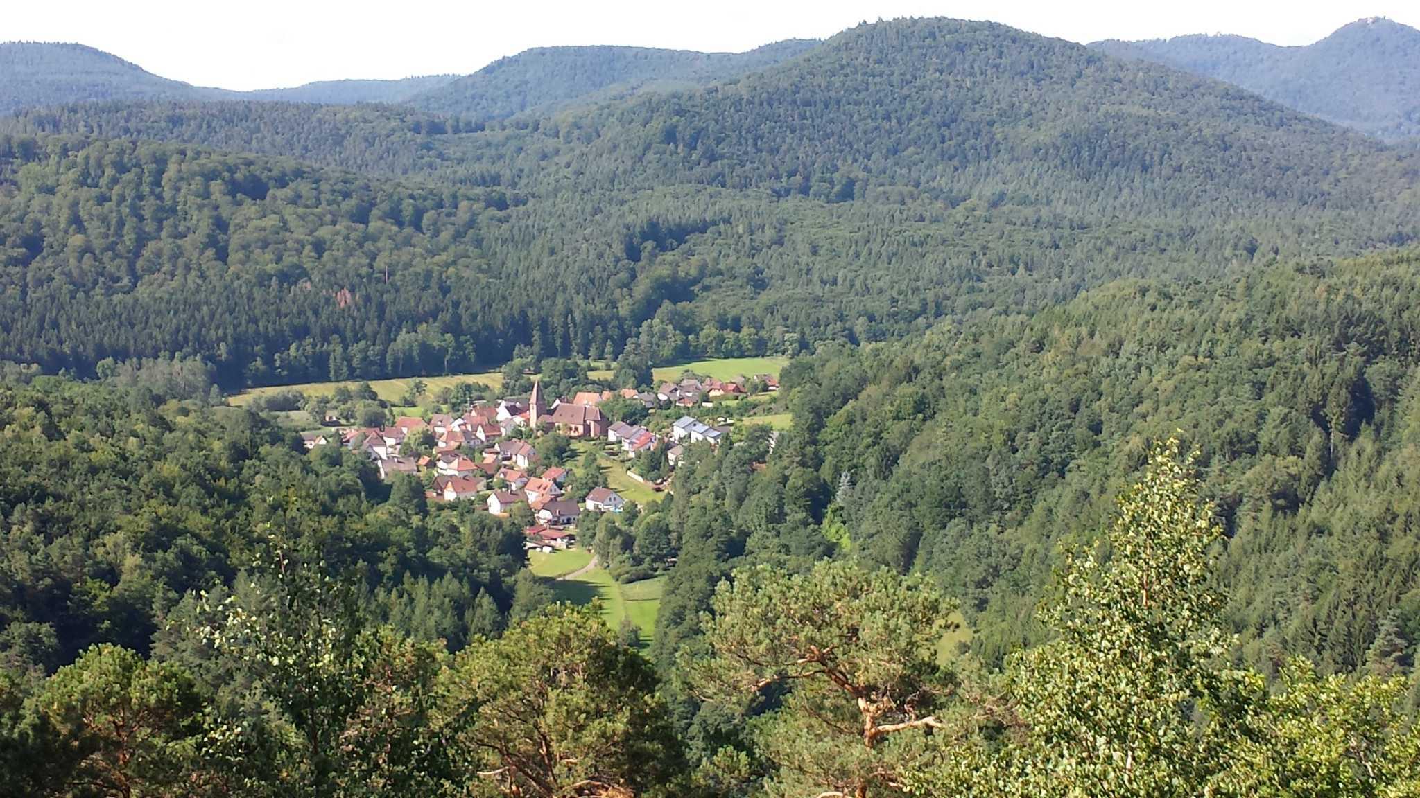 Blick auf Niederschlettenbach