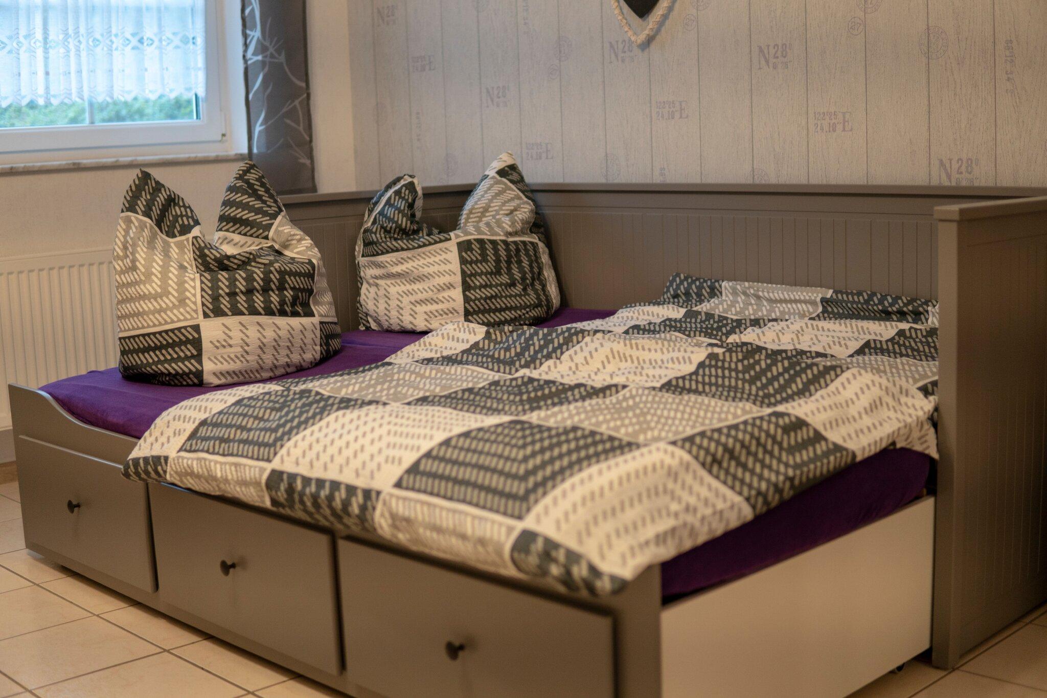Französische Bett / Hochbett
