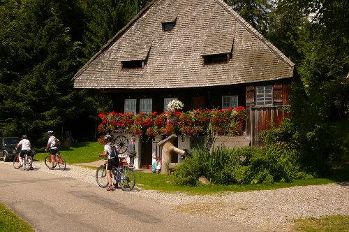 wundersch�nes altes Schwarzwaldhaus