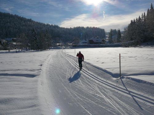 Langlaufen ist einfach supper sch�n