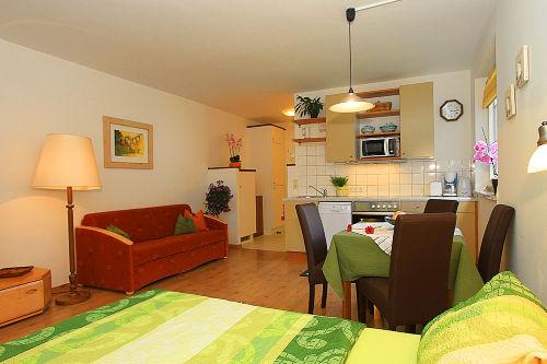 Schlafbereich Appartement