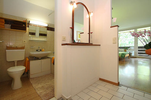 WC mit Badewanne
