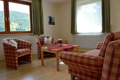 Wohnzimmer: Ansicht Sitzgruppe