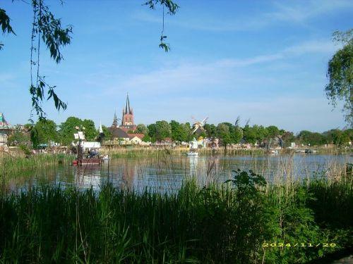 Inselansicht Werder / Havel