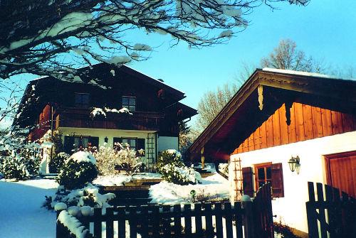 Lanhaus Kauderer im Winter