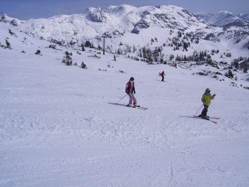 großartiges Ski- und Wandergebiet