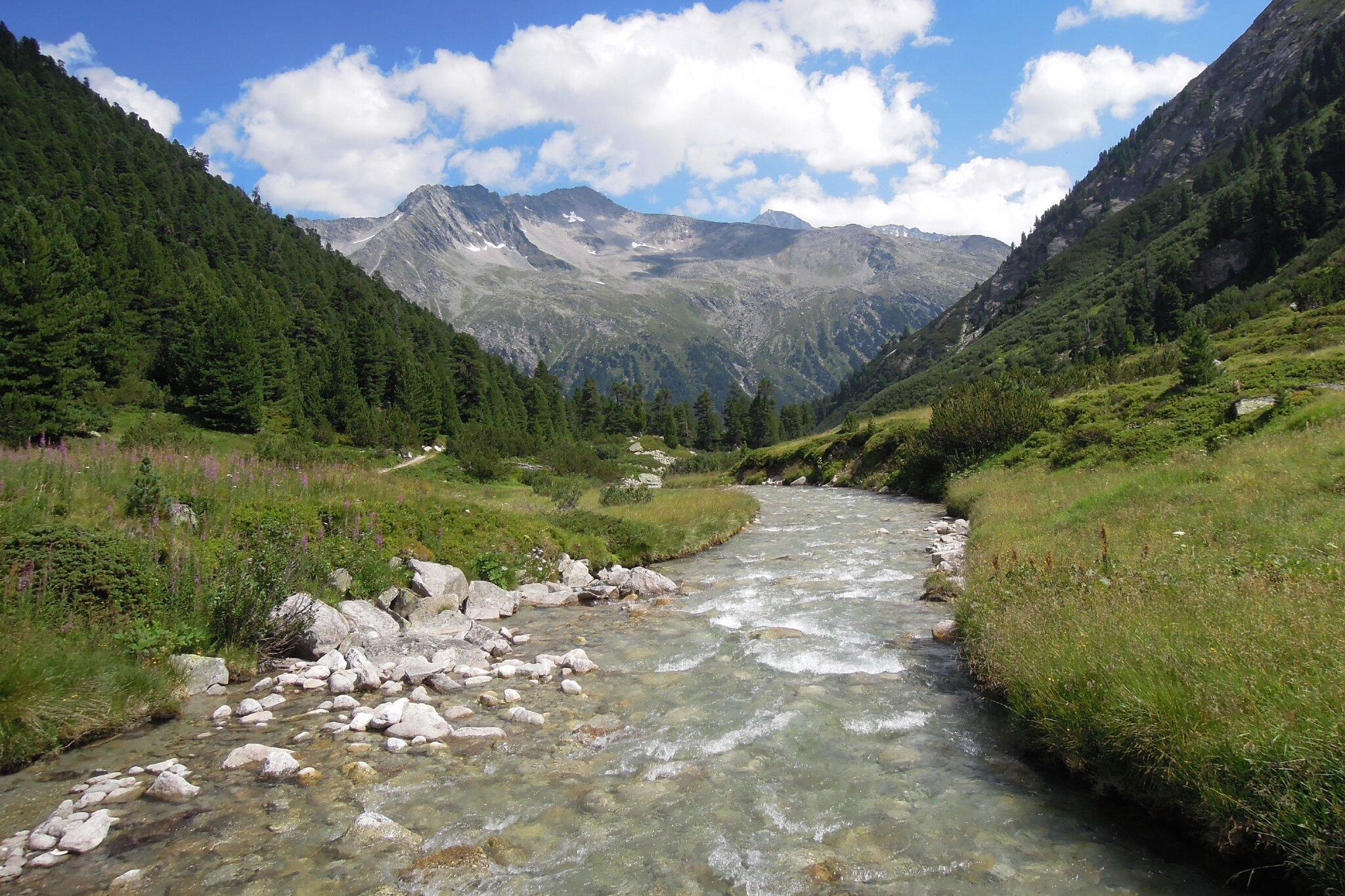 Gebirgsbach im Nationalpark Hohe Tauern