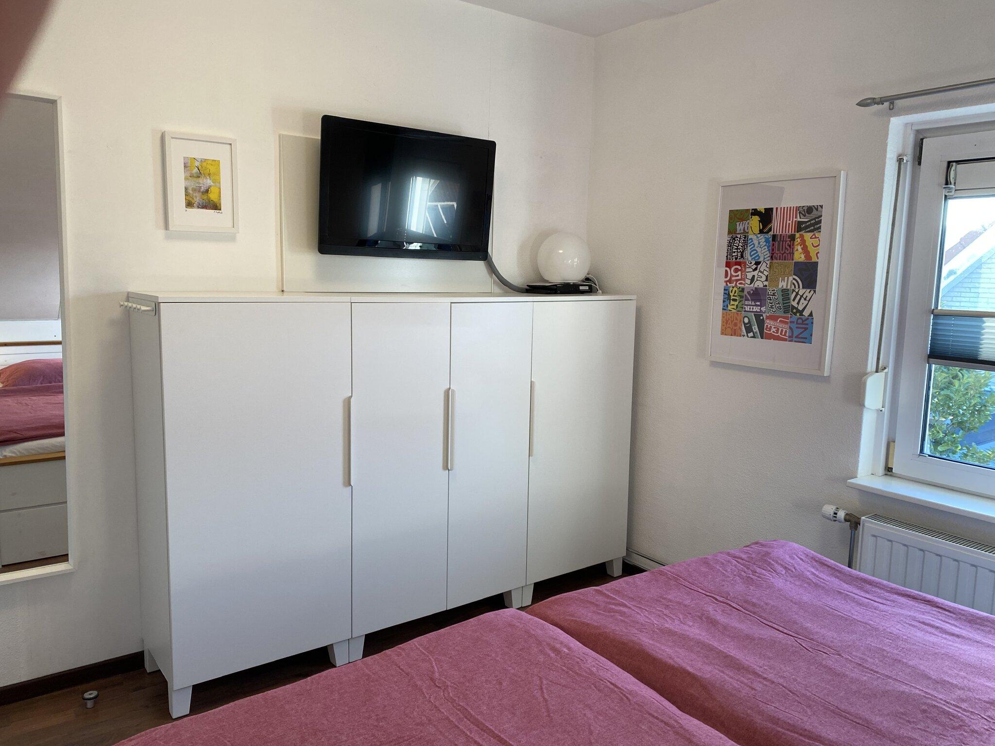 Zimmer 4 mit Kinderbettchen