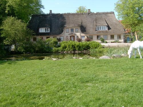 Blick auf unser Bauernhaus