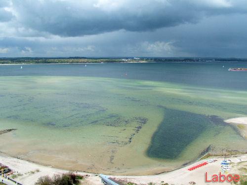 Laboe - U-Boot, Blick vom Ehrendenkmal