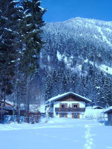 Haus Fahrenberg im Winter