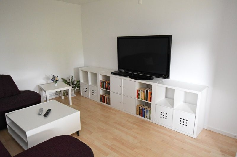 Wohnzimmer - Plasma Flachbild Fernseher