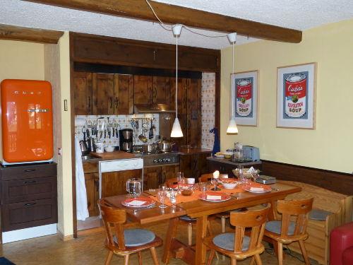Überarbeitete praktische Küchenzeile