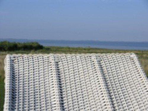 Blick aus dem eigenen Strandkorb