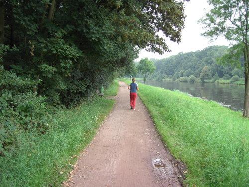 Idyllische Rad- u. Wanderwege a. d. Ems