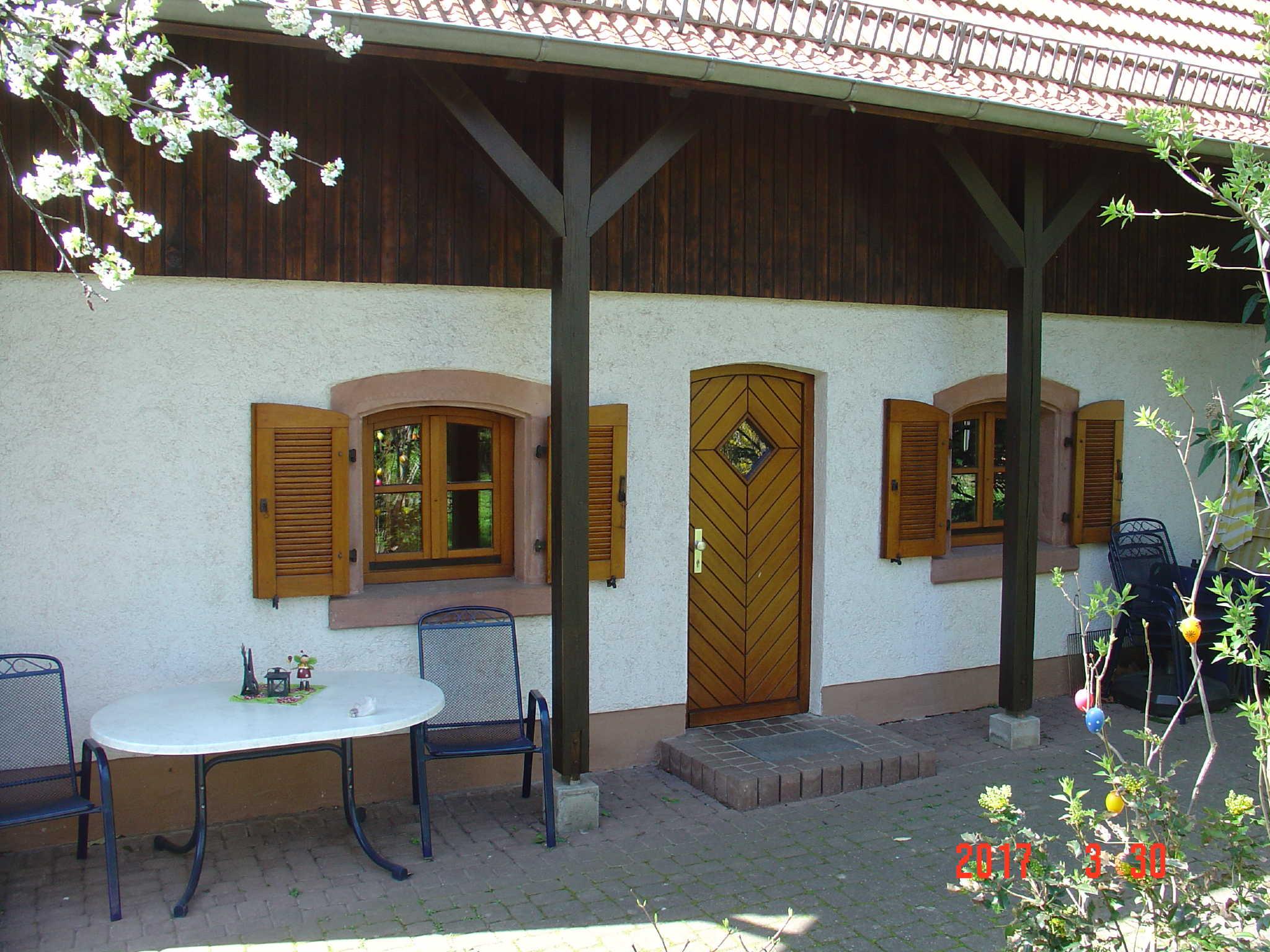 Garten mit Außengrill