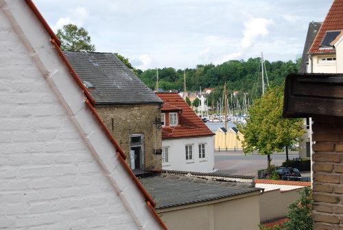 Hafenblick vom Dachgeschoss