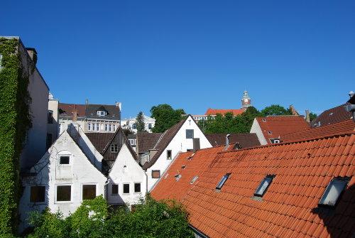 Blick über die Flensburger Altstadt