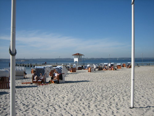 Strand in Glücksburg (15 Auto-Minuten)