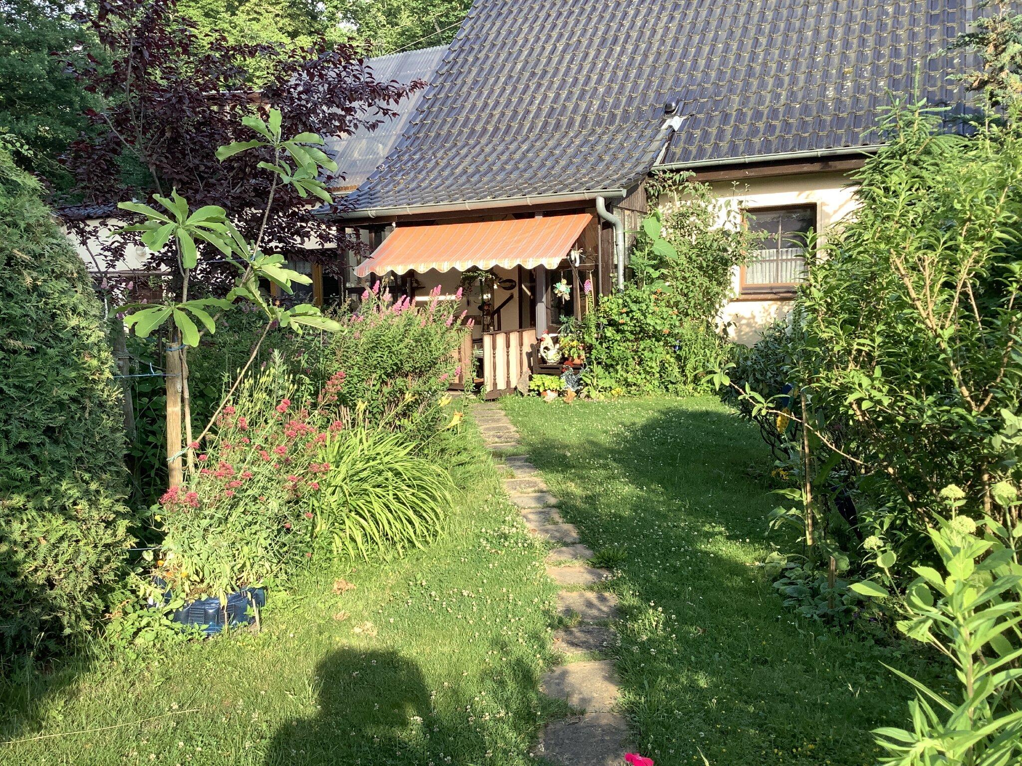 Hochterasse- Eingang Adlerhorst