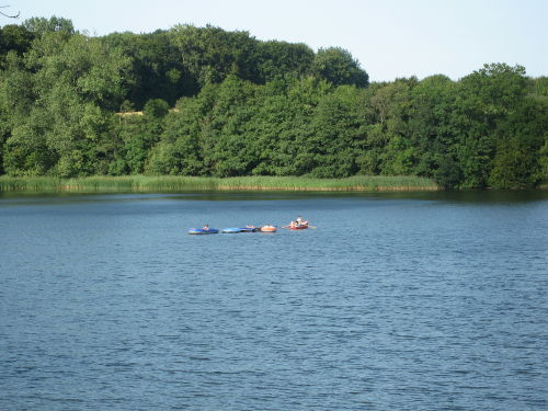 Paddeln auf dem See :)