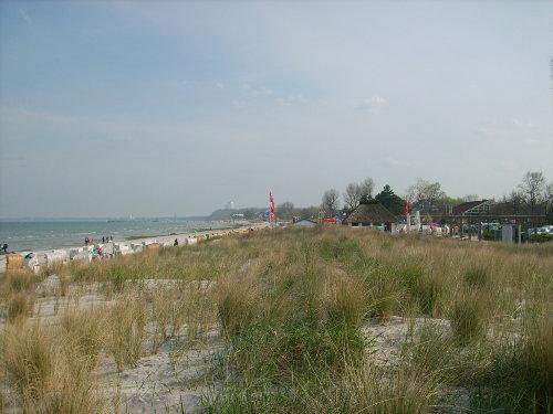 der Strand in Scharbeutz