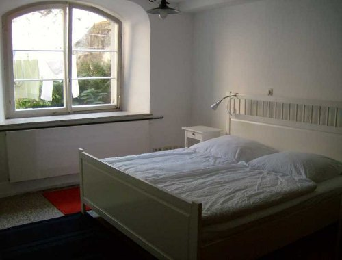 Schlafzimmer zum Hof